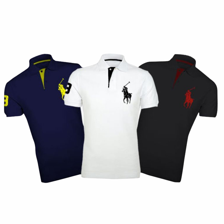 Pack of 3 Polo Shirts for Men