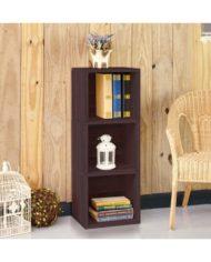 3-Shelf Narrow Bookcase